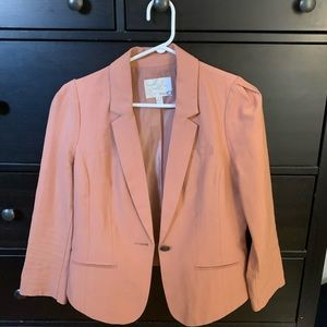 Rose cropped blazer
